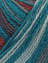 Fiber Content 40% Acrylic, 35% Wool, 25% Alpaca, Teal, Brand Ice Yarns, Grey, Copper, Yarn Thickness 2 Fine  Sport, Baby, fnt2-36989