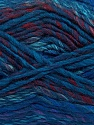 Fiber Content 75% Acrylic, 25% Wool, Purple, Navy, Brand Ice Yarns, Burgundy, Blue, Yarn Thickness 5 Bulky  Chunky, Craft, Rug, fnt2-40817
