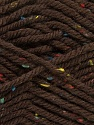 Fiber Content 72% Acrylic, 3% Viscose, 25% Wool, Brand Ice Yarns, Brown, Yarn Thickness 6 SuperBulky  Bulky, Roving, fnt2-40836