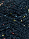 Fiber Content 72% Acrylic, 3% Viscose, 25% Wool, Navy, Brand Ice Yarns, Yarn Thickness 6 SuperBulky  Bulky, Roving, fnt2-40842