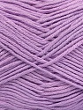 Fiber Content 50% Bamboo, 50% Cotton, Lilac, Brand Ice Yarns, Yarn Thickness 2 Fine  Sport, Baby, fnt2-41449