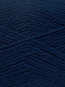 Fiber Content 100% Virgin Wool, Navy, Brand Ice Yarns, Yarn Thickness 3 Light  DK, Light, Worsted, fnt2-42310