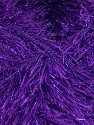 Fiber Content 75% Polyester, 25% Metallic Lurex, Purple, Brand Ice Yarns, Yarn Thickness 5 Bulky  Chunky, Craft, Rug, fnt2-42809