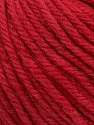 SUPERWASH WOOL BULKY is a bulky weight 100% superwash wool yarn. Perfect stitch definition, and a soft-but-sturdy finished fabric. Projects knit and crocheted in SUPERWASH WOOL BULKY are machine washable! Lay flat to dry. Fiber Content 100% Superwash Wool, Red, Brand Ice Yarns, Yarn Thickness 5 Bulky  Chunky, Craft, Rug, fnt2-42827