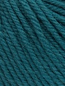 SUPERWASH WOOL BULKY is a bulky weight 100% superwash wool yarn. Perfect stitch definition, and a soft-but-sturdy finished fabric. Projects knit and crocheted in SUPERWASH WOOL BULKY are machine washable! Lay flat to dry. Fiber Content 100% Superwash Wool, Teal, Brand Ice Yarns, Yarn Thickness 5 Bulky  Chunky, Craft, Rug, fnt2-42833