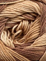 Fiber Content 100% Mercerised Cotton, Brand Ice Yarns, Brown Shades, Yarn Thickness 2 Fine  Sport, Baby, fnt2-44690