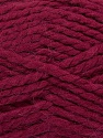 SuperBulky  Fiber Content 60% Acrylic, 30% Alpaca, 10% Wool, Brand Ice Yarns, Burgundy, Yarn Thickness 6 SuperBulky  Bulky, Roving, fnt2-45165