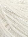 Fiber Content 79% Cotton, 21% Viscose, White, Brand Ice Yarns, Yarn Thickness 3 Light  DK, Light, Worsted, fnt2-45186