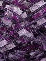Fiber Content 95% Polyester, 5% Metallic Lurex, Purple, Lilac, Brand Ice Yarns, Yarn Thickness 5 Bulky  Chunky, Craft, Rug, fnt2-45272