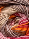 Fiber Content 100% Mercerised Cotton, Pink Shades, Orange, Brand Ice Yarns, Cream, Camel, Beige, Yarn Thickness 2 Fine  Sport, Baby, fnt2-47018