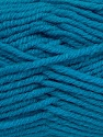 Fiber Content 50% Acrylic, 25% Wool, 25% Alpaca, Turquoise, Brand Ice Yarns, Yarn Thickness 5 Bulky  Chunky, Craft, Rug, fnt2-47145