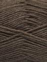 Fiber Content 60% Merino Wool, 40% Acrylic, Brand Ice Yarns, Dark Beige, Yarn Thickness 2 Fine  Sport, Baby, fnt2-47163