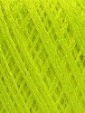 Fiber Content 60% Polyamide, 40% Viscose, Neon Green, Brand Ice Yarns, Yarn Thickness 2 Fine  Sport, Baby, fnt2-48389