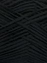 Fiber Content 50% Acrylic, 50% Cotton, Brand Ice Yarns, Black, Yarn Thickness 2 Fine  Sport, Baby, fnt2-49416