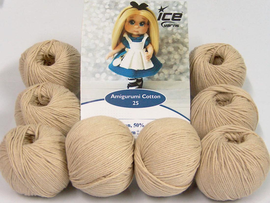 Amazon.com: Katia Cotton Yarn: Amigurumi 100%, Multicolor, 100 ... | 828x1099